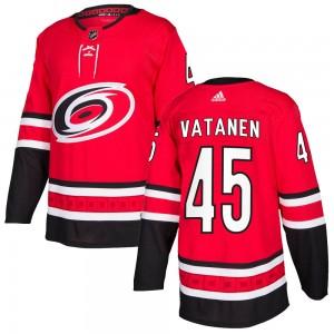 Sami Vatanen Carolina Hurricanes Men's Adidas Authentic Red ized Home Jersey