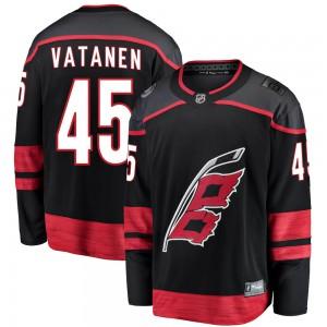 Sami Vatanen Carolina Hurricanes Youth Fanatics Branded Black ized Breakaway Alternate Jersey