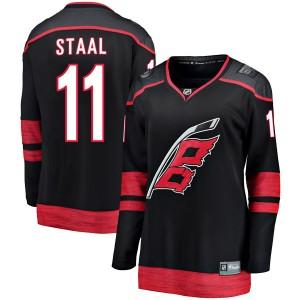 Jordan Staal Carolina Hurricanes Women's Fanatics Branded Black Breakaway Alternate Jersey