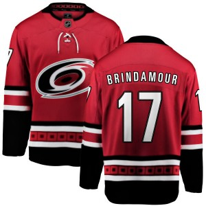 Rod Brind'Amour Carolina Hurricanes Men's Fanatics Branded Red Home Breakaway Jersey