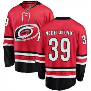 Alex Nedeljkovic Carolina Hurricanes Youth Fanatics Branded Red Breakaway Home Jersey