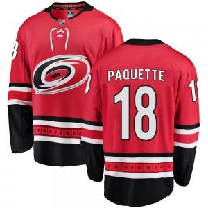 Cedric Paquette Carolina Hurricanes Youth Fanatics Branded Red Breakaway Home Jersey