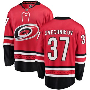 Andrei Svechnikov Carolina Hurricanes Youth Fanatics Branded Red Breakaway Home Jersey