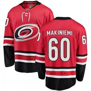 Eetu Makiniemi Carolina Hurricanes Men's Fanatics Branded Red Breakaway Home Jersey