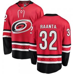 Antti Raanta Carolina Hurricanes Men's Fanatics Branded Red Breakaway Home Jersey