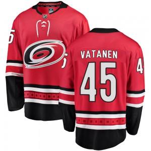 Sami Vatanen Carolina Hurricanes Men's Fanatics Branded Red ized Breakaway Home Jersey