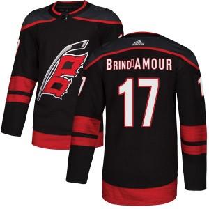 Rod Brind'Amour Carolina Hurricanes Men's Adidas Authentic Black Alternate Jersey