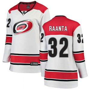Antti Raanta Carolina Hurricanes Women's Fanatics Branded White Breakaway Away Jersey