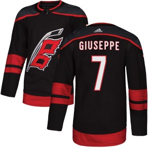 Phil Di Giuseppe Carolina Hurricanes Youth Adidas Authentic Black Alternate Jersey