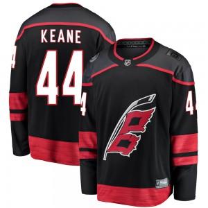Joey Keane Carolina Hurricanes Men's Fanatics Branded Black Breakaway Alternate Jersey