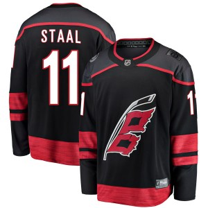 Jordan Staal Carolina Hurricanes Men's Fanatics Branded Black Breakaway Alternate Jersey