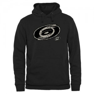 Carolina Hurricanes Men's Black Rink Warrior Pullover Hoodie