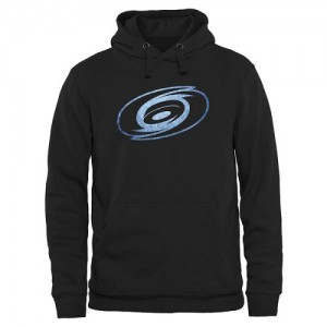 Carolina Hurricanes Men's Black Rinkside Pond Hockey Pullover Hoodie