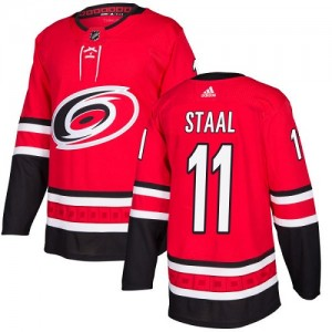 Jordan Staal Carolina Hurricanes Youth Adidas Authentic Red Home Jersey