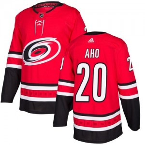 Sebastian Aho Carolina Hurricanes Youth Adidas Authentic Red Home Jersey
