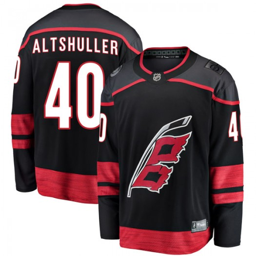 Daniel Altshuller Carolina Hurricanes Youth Fanatics Branded Black Breakaway Alternate Jersey