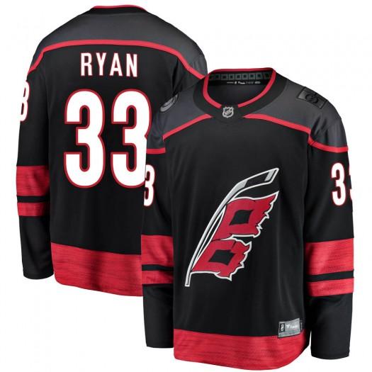 Joakim Ryan Carolina Hurricanes Youth Fanatics Branded Black Breakaway Alternate Jersey