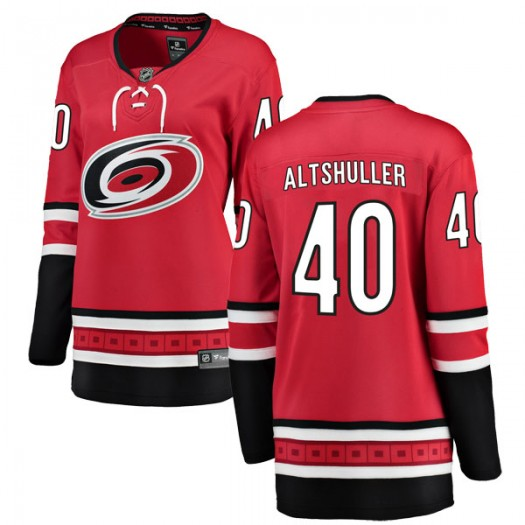 Daniel Altshuller Carolina Hurricanes Women's Fanatics Branded Red Breakaway Home Jersey