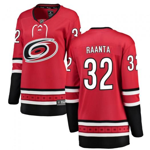 Antti Raanta Carolina Hurricanes Women's Fanatics Branded Red Breakaway Home Jersey