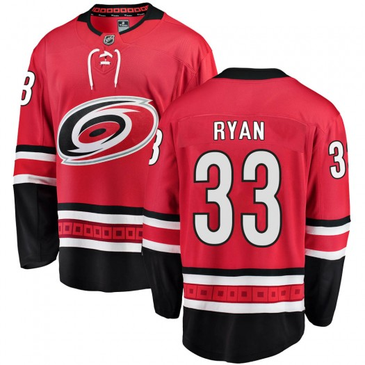 Joakim Ryan Carolina Hurricanes Youth Fanatics Branded Red Breakaway Home Jersey