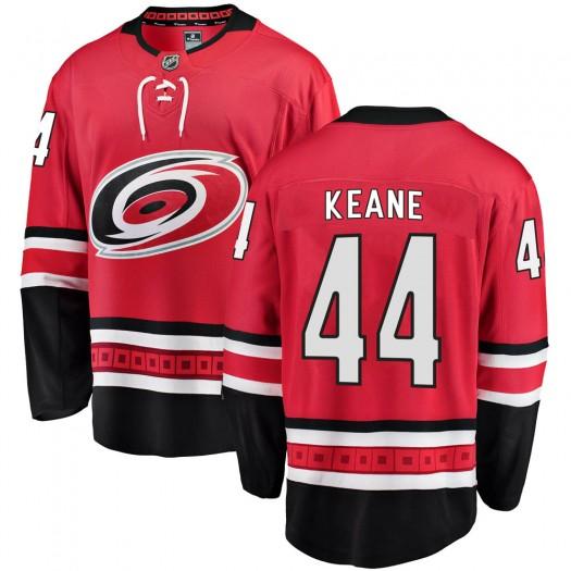Joey Keane Carolina Hurricanes Men's Fanatics Branded Red Breakaway Home Jersey
