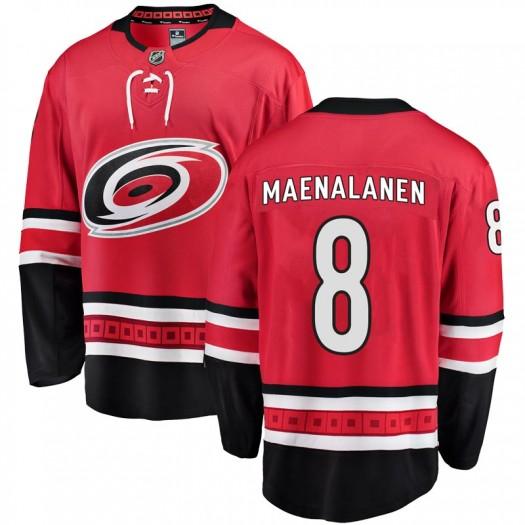 Saku Maenalanen Carolina Hurricanes Men's Fanatics Branded Red Breakaway Home Jersey