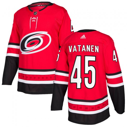 Sami Vatanen Carolina Hurricanes Youth Adidas Authentic Red ized Home Jersey