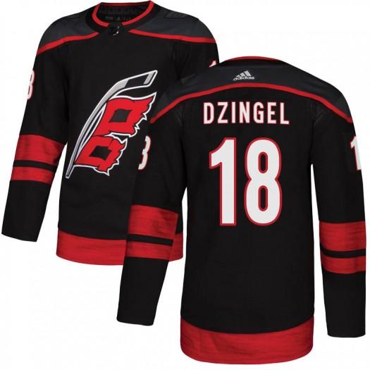 Ryan Dzingel Carolina Hurricanes Men's Adidas Authentic Black Alternate Jersey