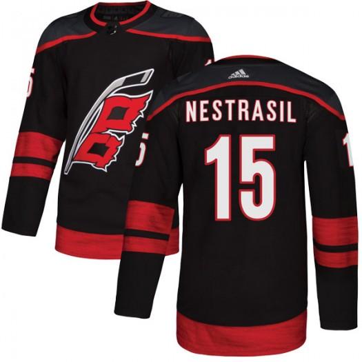 Andrej Nestrasil Carolina Hurricanes Men's Adidas Authentic Black Alternate Jersey