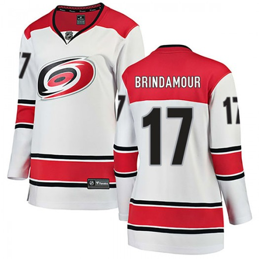 Rod Brind'Amour Carolina Hurricanes Women's Fanatics Branded White Breakaway Away Jersey