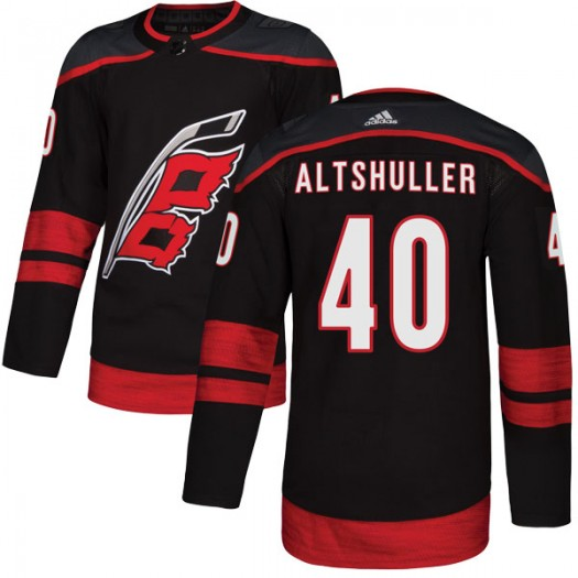 Daniel Altshuller Carolina Hurricanes Youth Adidas Authentic Black Alternate Jersey