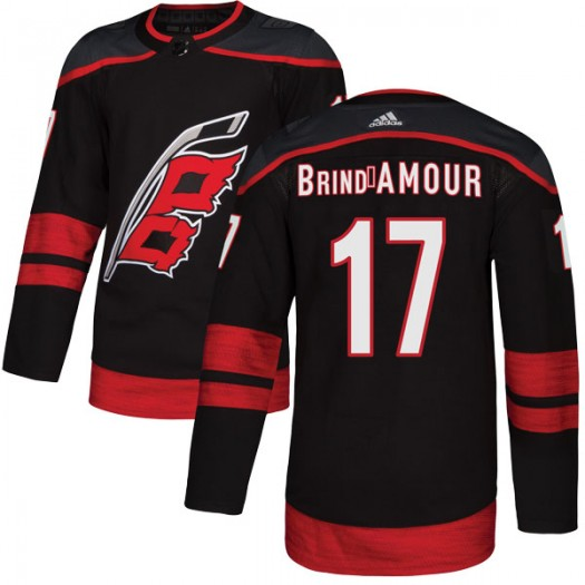 Rod Brind'Amour Carolina Hurricanes Youth Adidas Authentic Black Alternate Jersey