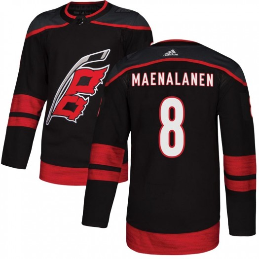 Saku Maenalanen Carolina Hurricanes Youth Adidas Authentic Black Alternate Jersey