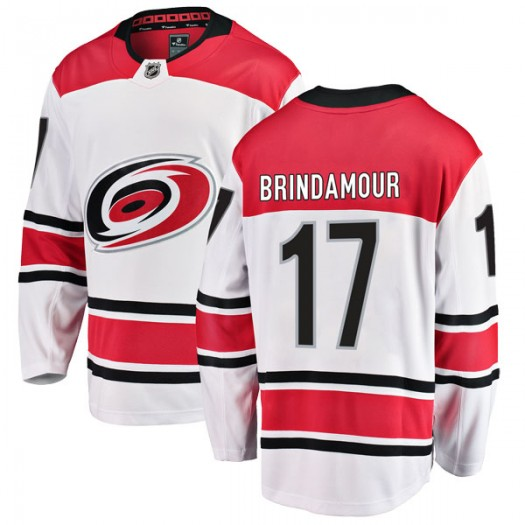 Rod Brind'Amour Carolina Hurricanes Youth Fanatics Branded White Breakaway Away Jersey