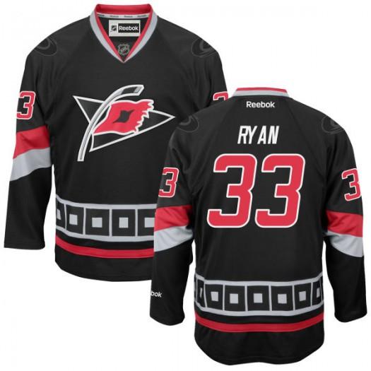 Derek Ryan Carolina Hurricanes Men's Reebok Authentic Black Alternate Jersey