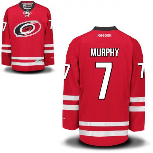 Ryan Murphy Carolina Hurricanes Men's Reebok Authentic Red Home Jersey