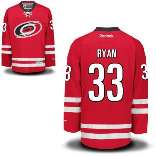 Derek Ryan Carolina Hurricanes Youth Reebok Replica Red Home Jersey