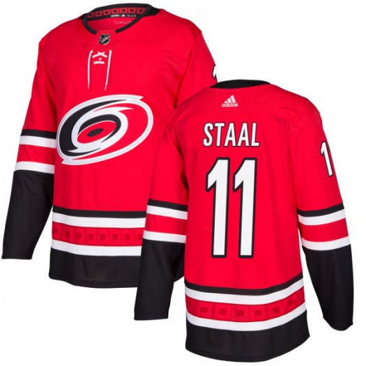 Jordan Staal Carolina Hurricanes Men's Adidas Authentic Red Jersey